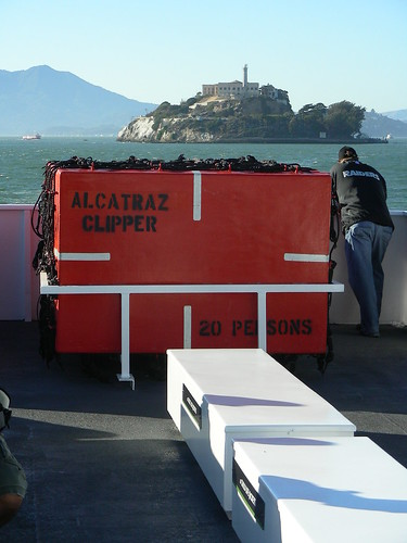 Alcatraz Clipper says Goodbye