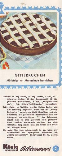 König Bilderrezept: Gitterkuchen