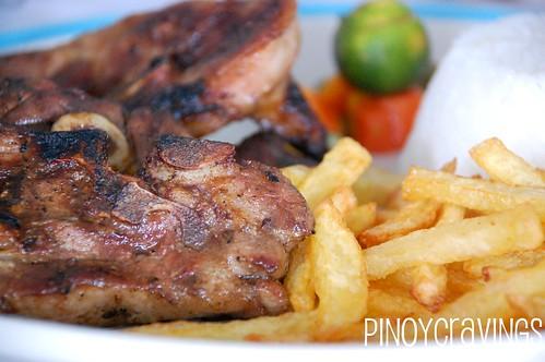 Manos Greek Taverna Grilled Lamb