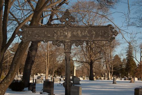Walnut Ave, Milton Cemetery