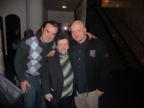 Left: Jozo Procko, Andrejka, Marian Labuda