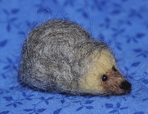 Felted Hedgehog