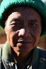 Retired mayor of a Palaung Village, Kalaw (talesfrom30b) Tags: trek myanmar kalaw