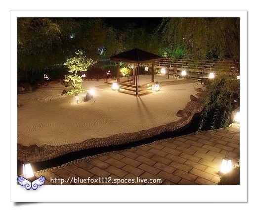 081219亞太溫泉生活館10_日式庭園夜景