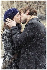 Nate & Blair (MaybeSomedayLove) Tags: girl set kiss nate blair chace crawford leighton gossip on meester