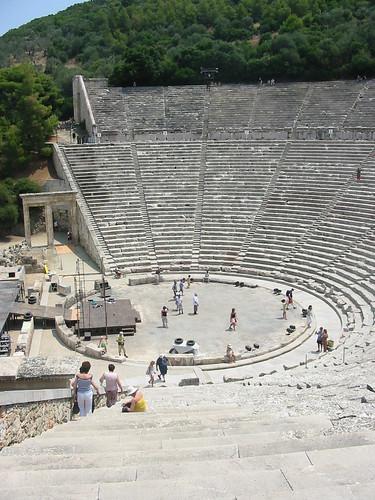 Indrukwekkend amfitheater