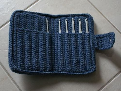 Crochet Needle Bag Pattern ~ Dancox for .