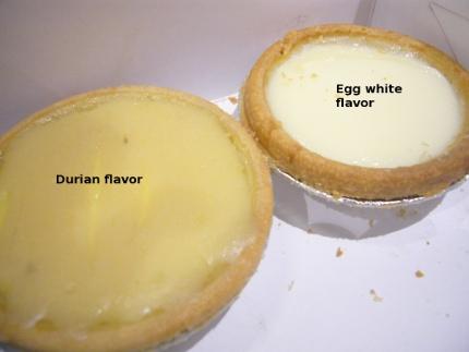durian eggtart