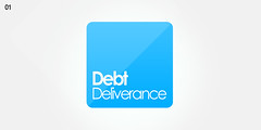 Debt Deliverance (Emerge Studios) Tags: logo corporate design brighton graphic identity studios branding emerge emergestudios