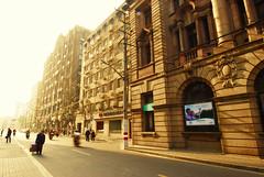Art Deco style building (Kamal Zharif) Tags: shanghai artdeco oldbuilding historicalbuilding sichuanroad morningscenery