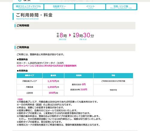 ご利用方法|横浜コミュニティサイクル
