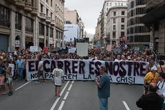 19J: heading (Bernat Maj) Tags: barcelona june catalonia via demonstration catalunya 19 bernat 19th juny laietana acampada 2011 occupy 19j indignados maj acampadabcn bernatmajocom bernatmaj