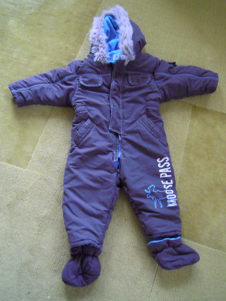 Baby Snow Suit + Booties