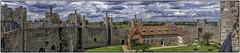 Framlingham  castle (Mirrorless for me) Tags: england panorama castle suffolk nikon processing poorhouse framlingham englishheritage d90 tonemapping nikond90