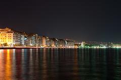 Thessaloniki by Night (Valerio Menna) Tags: night lights nikon hellas greece macedonia grecia 1750 thessaloniki tamron d90 makedonia salonicco
