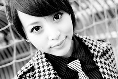 Flora (swanky) Tags: portrait people blackandwhite bw cute girl beauty canon asian eos model flora women pretty taiwan babe taipei   tamron 2008  flo  30d  shihlin a16  i500 1750mm   nationaltaiwanscienceeducationcenter tamronspaf1750mmf28xrdiiildasphericalifmodela16 ntsec  butyflora  mtv mtv dreamnoir explore28feb08