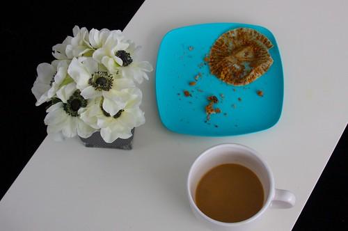 breakfast residue