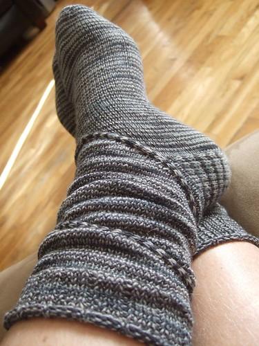 Spiraling Coriolis Socks (3)