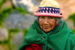 elder at Puka Pukara (LindsayStark) Tags: travel portrait woman peru women cusco elders sacredvalley