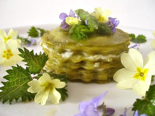 Lasagnette alle ortiche con pesto composto