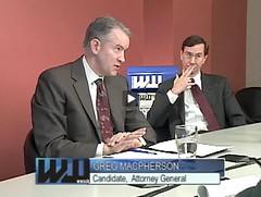 WW endorsements 2008 - John Kroger, Greg Macpherson