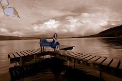 Dream Schemes 3 (Psycrow) Tags: blue ireland woman lake colour water girl beautiful shop sepia design model chair clare lough furniture interior jetty dream eire couch jody thumbsup scheme tipperary killaloe ballina derg dreamscheme thumbsupwinner