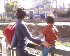 Junto al Canal San Carlos