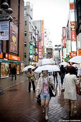 Shibuya @ Daytime (~Morgan) Tags: japan tokyo rainyday shibuya pluie daytime japon journe ©morgancugerone 200803301619092422