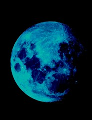 Blue Moon (steviep187) Tags: moon space astronomy pics night