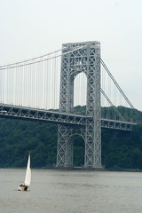 GW Bridge New Jersey Side (Cal Holman) Tags: newyork bride hudson georgewashingtonbridge