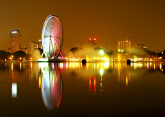 Eye On Malaysia (whossein) Tags: park light lake night canon titiwangsa longexposer blueribbonwinner onlythebest mywinners abigfave diamondclassphotographer canonpowershots5is colourartaward platinumheartaward whossein who5ein eyeonmalaysya
