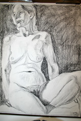 """Female nude-charcoal • <a style=""""font-size:0.8em;"""" href=""""http://www.flickr.com/photos/45675389@N00/2492876825/"""" target=""""_blank"""">View on Flickr</a>"""