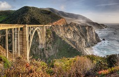 Bixby Bridge (Eric Wolfe) Tags: ocean california bridge usa landscape coast highway arch unitedstates scenic bigsur cliffs pacificocean viewpoint hdr bixbybridge pacificcoasthighway ca1 original:filename=200712280195jpg