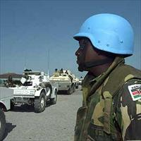 Ugandan peace keepers in Somalia