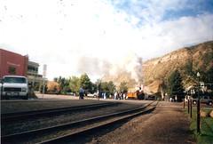 Durango_leavin_train (theboss_fan) Tags: ct bo steamtown dsng