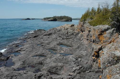 Raspberry Island point