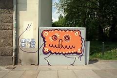 keks und pixelleute (ssswarensndikat) Tags: streetart dresden keks sweets syndikat ssses ssswaren ssswarensndikat