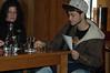 Volunteer for taste test at Jameson distillery