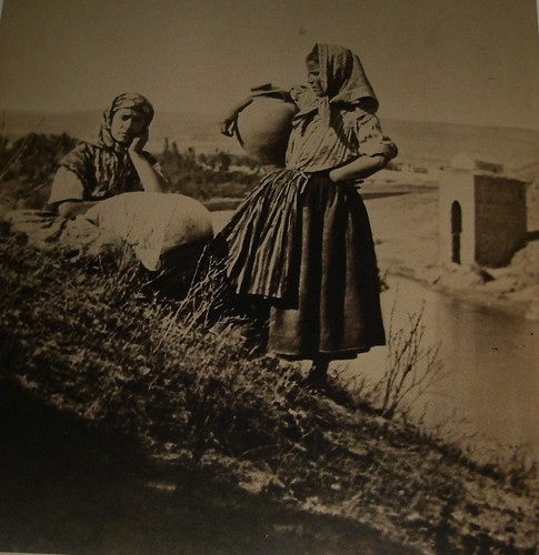 Cantareras frente a la Cava. The Hispanic Society of America. Foto Jean Laurent, 1858-74