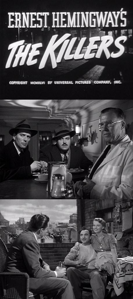 Escenas de 'Los asesinos' (1946)