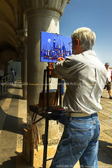 Artist at work, Venice - Italy (Humayunn N A Peerzaada) Tags: india architecture model europe photographer indian painter actor maharashtra mumbai byzantine dogespalace stmarkssquare kutch humayun madai byzantinearchitecture sestiere peerzada imagesoftheworld deolali humayunn peerzaada cathedralofvenice chiesadoro kudachi kudchi humayoon humayunnnapeerzaada wwwhumayooncom churchofgold humayunnapeerzaada grandeuropediscovery