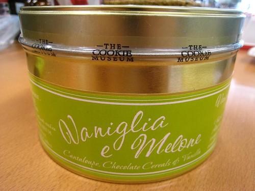 Vaniglia e Melone Cookies