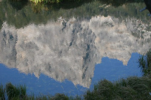 Moose Pond Reflection