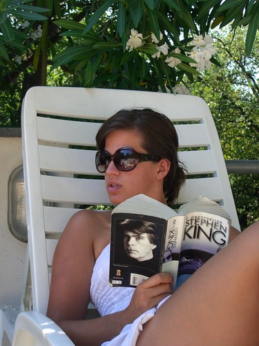 Carl Hiaasen book fan photo