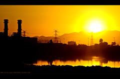Big Sun (Manuel Gual) Tags: españa sun sol apple photoshop puerto atardecer spain nikon imac d200 wacom grao castellon cs3 benicasim nikond200 espaa nikonstunninggallery ltytr1 manuelgual adofa