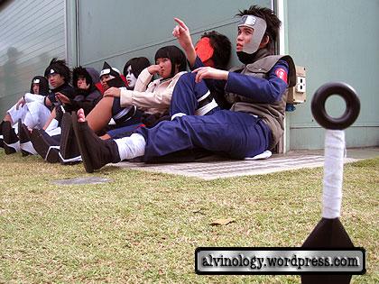 naruto characters resting