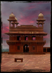 """kaisa yeh khwab hain ?"" (designldg) Tags: sunset india heritage love architecture asia colours muslim fatehpursikri symmetry monsoon mughal rajput uttarpradesh  saarc indiasong articulateimages"