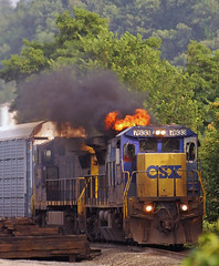 CSX Transportation GE C40-8 7633 (Harry Gaydosz) Tags: pennsylvania trains beaver pa ge locomotives railroads generalelectric csx csxtransportation csxtq249 csxt7633