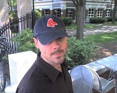josh in his redsox hat (alist) Tags: alist robison joshuagreen alicerobison ajrobison