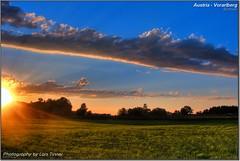 Austria - Vorarlberg (Lars Tinner) Tags: sky clouds sunrise geotagged austria dornbirn sonnenuntergang himmel wolken vorarlberg lustenau wiesenrain wwwtinnersg geo:lon=9680766 106kmtowiesenraininvorarlbergaustria geo:lat=47416046 httpwwwtinnersg tinnersg